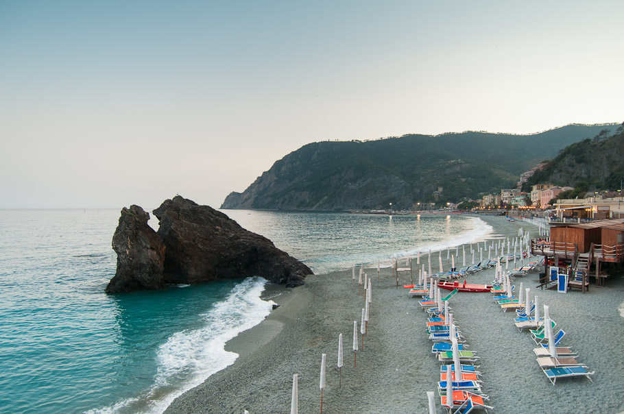 View of Monterosso from Hiking Trail