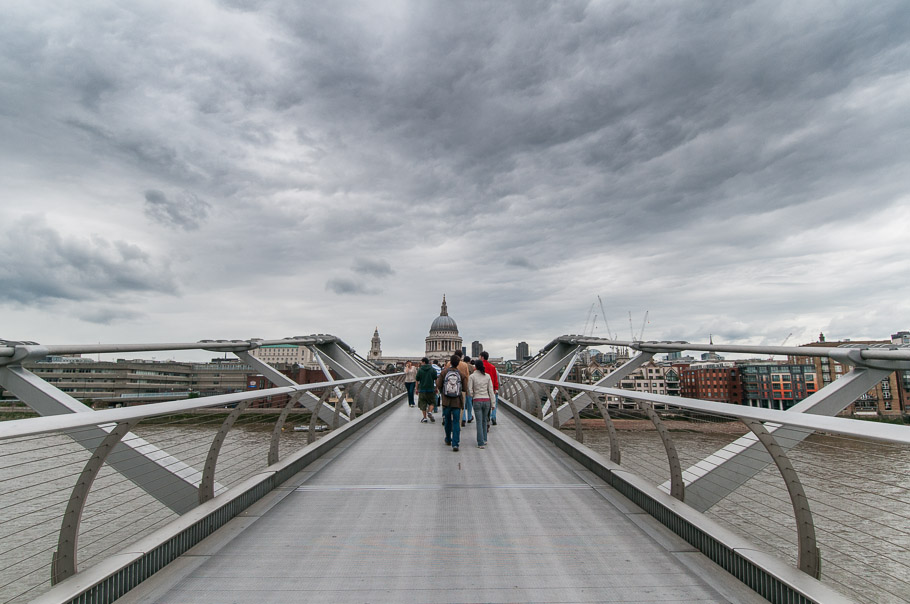 The Millennium Foot Bridge